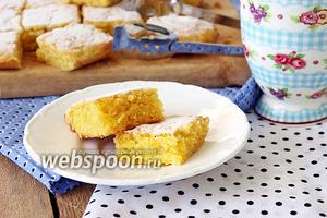 Кекс «Лимонная свежесть»