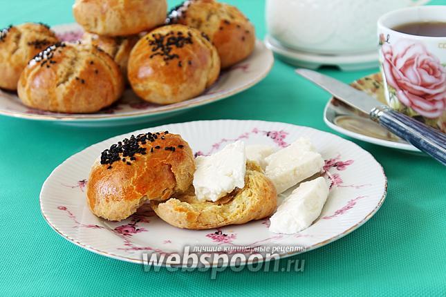 Фото Хлебные булочки с кунжутом