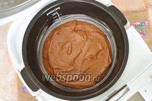Выложить тесто. Выставить время 1 час в режиме «Печь» при температуре 160ºC.