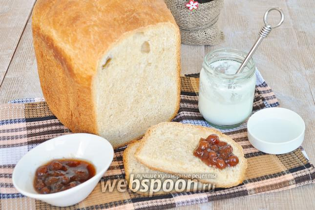 Фото Йогуртовый хлеб с цельнозерновой мукой в хлебопечке