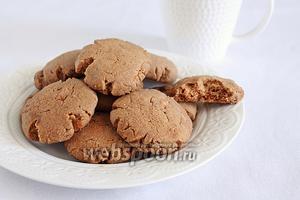 Рассыпчатое шоколадное печенье на оливковом масле