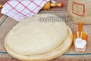 Пирожковое тесто для хлебопечи
