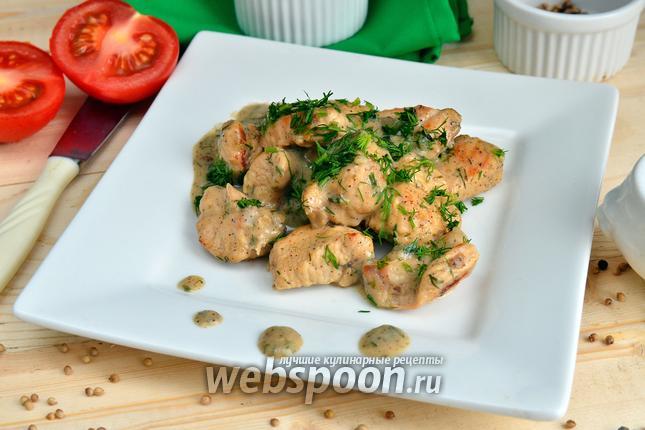Как приготовить индейку в сливочном соусе