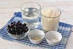 Для приготовления кваса из смородины нам понадобится чёрная смородина, вода, сахар, дрожжи, лимонная кислота.