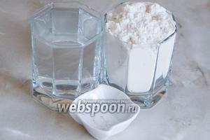 Для приготовления армянского лаваша в домашних условиях нам понадобится всего 3 ингредиента — мука пшеничная, горячая вода и соль.