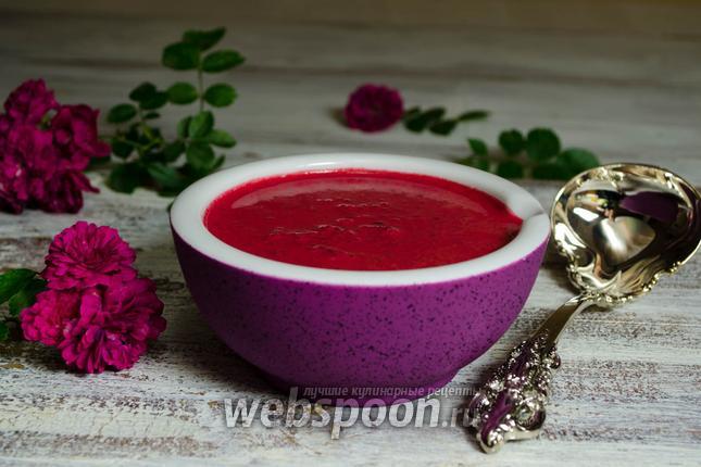 Фото Свекольный соус на сливках