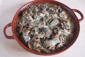 Запекайте примерно 35-40 минут до золотистой корочки. Подавайте блюдо горячим, например, с гарниром из картофельного пюре или просто с зеленью! Приятного аппетита!