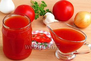Томатный соус в мультиварке