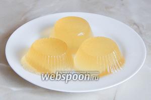 Лимонно-имбирное желе готово! Очень вкусно, просто и полезно!