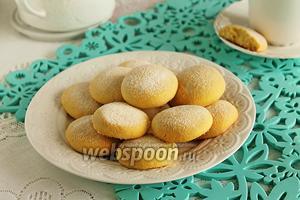 Песочное печенье с кукурузной мукой