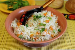 Рис в микроволновке