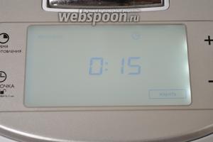 Включить мультиварку в режим «жарить» на 15 минут. Мультиварка PHILIPS 3095.