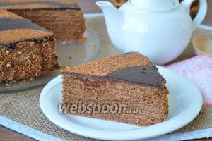 Торт «Шоколадные пески»