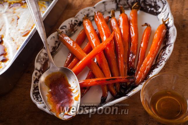 Фото Морковь в сладкой глазури