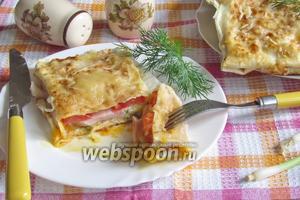 Быстрый завтрак из лаваша