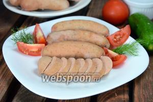 Вареная детская колбаса