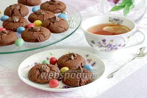 Печенье «Шоколадные трещинки» без яиц