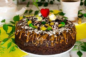 Шоколадный бисквит на перепелиных яйцах в мультиварке