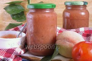 Персиково-сливовый конфитюр