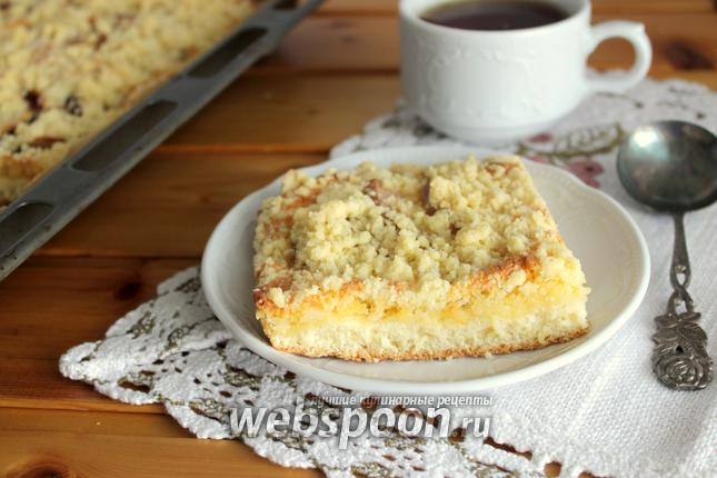 Фото Сливово-грушевый пирог