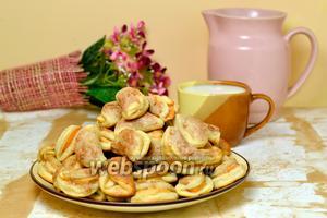 Яблочное печенье «Пельмени»
