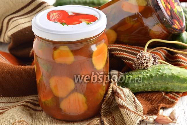 Фото Огурцы с кетчупом чили «Торчин»