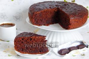 Шоколадный пирог с кабачками в мультиварке