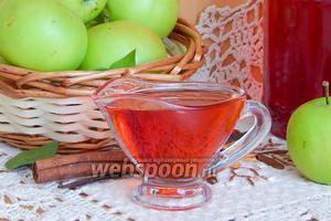 Яблочный сироп с корицей и ванилью