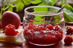 Яблочно-малиновое повидло