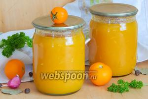 Жёлтый томатный соус