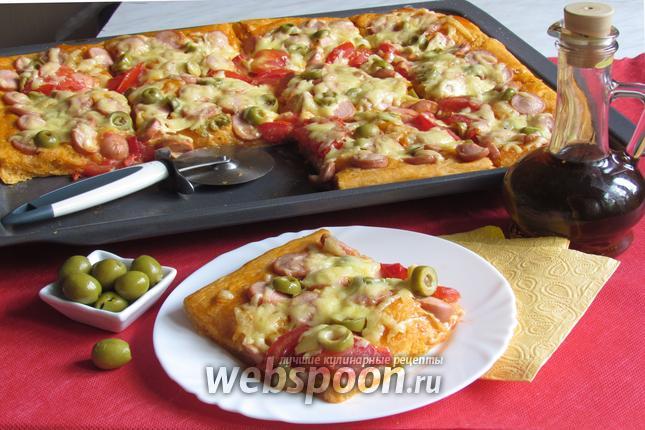 Фото Пицца по-домашнему