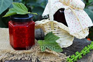 «Живое варенье» малина и красная смородина