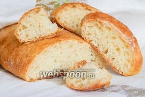 Белый хлеб на йогурте без замеса