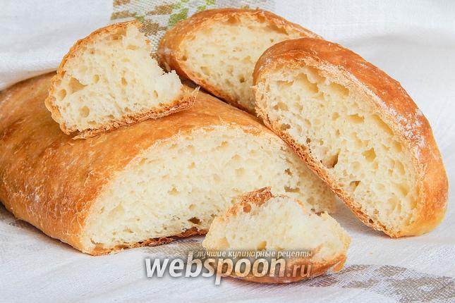 Фото Белый хлеб на йогурте без замеса