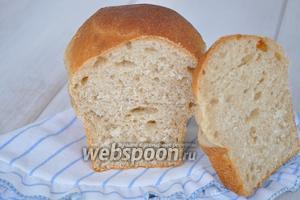 Вот такой разрез у хлеба.