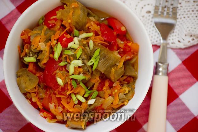 Рецепт Соте из печёных овощей
