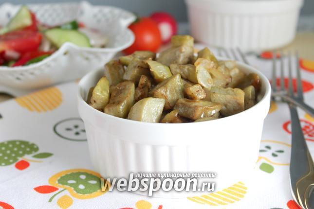 Фото Грибная закуска из баклажан