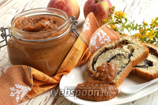 Фото Яблочное варенье «Карамельное яблоко»