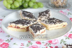 Малиновое печенье
