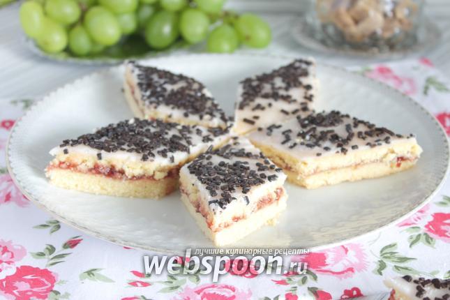 Фото Малиновое печенье