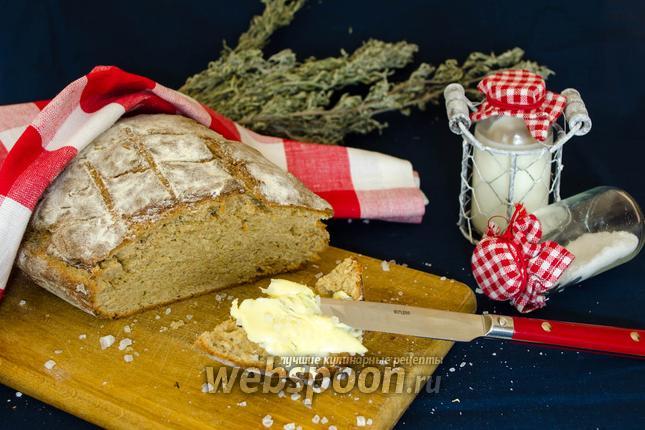 Фото Бездрожжевой хлеб с розмарином