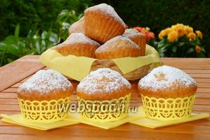 Бананово-лимонные капкейки