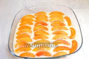 Выкладываем наши абрикосинки.