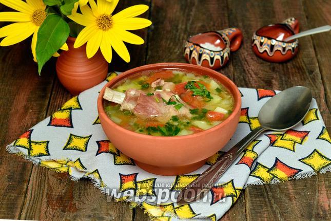 смотреть видео рецепты мультиварка поларис суп с косточками бараньими