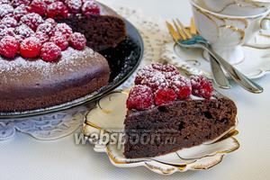 Торт «Шоколадный трюфель»