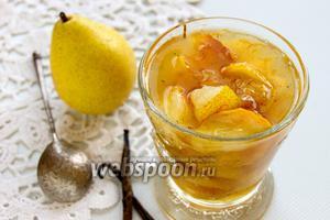 Варенье из груш с ванилью