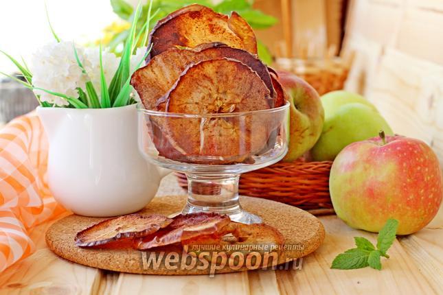 Фото Яблочные чипсы