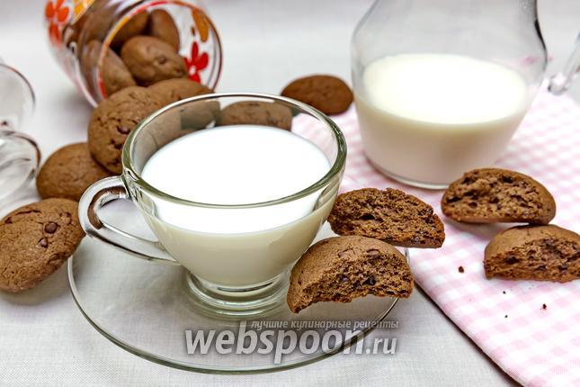 Фото Гречневое печенье с шоколадом