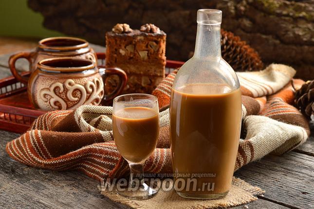 Фото Карамельно-кофейный ликёр