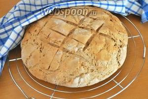 Хлеб полностью остудить перед употреблением.
